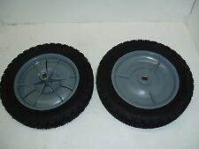 2 PK. - SNAPPER  PUSH MOWER 10 X 1.75 PLASTIC WHEEL 7035740,35740 (GRAY)(8932)