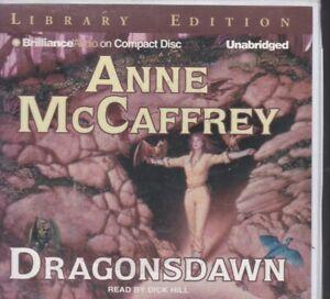 DRAGONSDAWN by ANNE MCCAFFREY ~UNABRIDGED CD AUDIOBOOK
