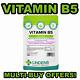 VITAMIN B5 TABLETS (Pantothenic Acid) 500mg x 90, Stress, Energy, Skin, LINDENS