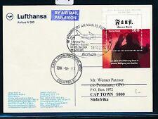 65056) LH FF Frankfurt - Kapstadt Südafrika 16.10.2004, card