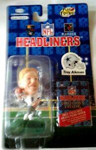 Troy Aikman 1996 NFL HEADLINERS FIGURE Corinthian - Sealed Original Package