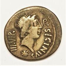 Monnaie denier de Sicinia quintus sicinius