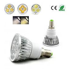 E14 4W Cool White High Power LED Lamp Light Bulb 4X1W  85-265V