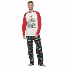 "*NWT* Disney Toy Story 4 ""Toy to the World"" Men's Top & Bottoms Pajama Set ~ XL"