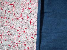 Gymboree Denim Paisley Receiving Baby Blanket - New w/Tags