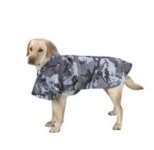 Rain Jacket for Dog XS Black Camo Waterproof