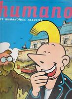 Humano N° 4. Novembre 1990. Chiatta, Moebius, Bilal Novità Umanoidi