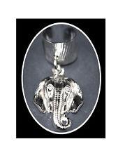 BEAUTIFUL EARCUFF/HAIR HAND MADE S.S. ELEPHANT HEAD