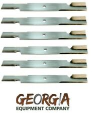 "6 USA MADE BLADES 52"" SCAG OR GRAVELY 18"" X 5/8"" 482878 482462 481707 48108"
