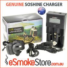 Soshine SC H2 Universal Smart Battery Charger Li-ion 18650 Li-FePO4 Ni-MH AA AAA