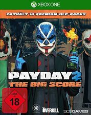 Payday 2 - The Big Score       XBOX One        XB One       !!!!! NEU+OVP !!!!!