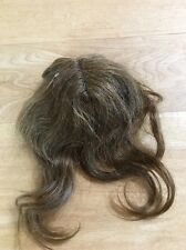 Old Brown, Fiber Unknown, Doll Wig- Off TLC Antique Doll
