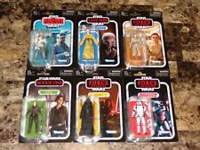 Star Wars Action Figure Set The Vintage Collection Lot Wave 1 2018 Series MOC !