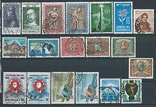 1963 ITALIA USATO ANNATA 19 VALORI - ED04