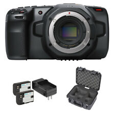 Blackmagic Design Cine Camera 6K Bundle w/ Waterproof Case & Li-Ion Battery Pack