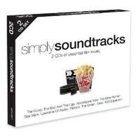 SIMPLY SOUNDTRACKS  2 CD NEU