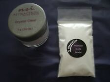 NSI Crystal Clear Acrylic Powder 7g - Decanted