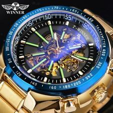 2020 Men's Watch Stainless Steel Luminous Automatic Mechanical Watch Relojes Hot