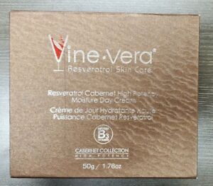 Vine Vera Resveratrol Skin Care Cabernet High Potency Day cream 50g / 1.76 oz