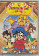 An American Tail 3 - The Treasure Of Manhattan Island New & Sealed R2 R4 R5 DVD