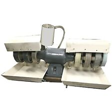 "USED Diamond Pacific TITAN  8"" Lapidary Grinder Polisher 7 WHEELS 1 PATCHED HOOD"