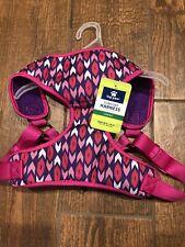 Top Paw Comfort Dog Harness Adjustable LARGE Pink & Purple! NEW!!