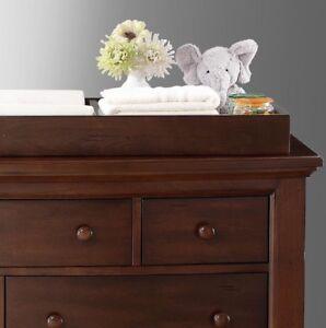 Bertini Pembrooke Dresser Topper Dark Walnut