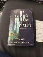 The Rise Of Elevators Eric Radford Paperback Signed With Signed Letter