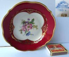 Porcelaine Coquille Fleurs Lindner Bavaria G869