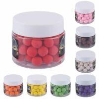50pcs/box Smell Pop Ups 10mm Carp Fishing Bait Floating Ball Beads Feeder New