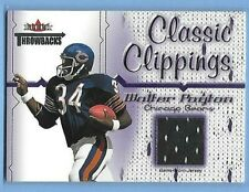 WALTER PAYTON - CHICAGO BEARS - CLASSIC CLIPPING GAME USED JERSEY - SWEETNESS!