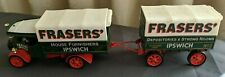 MATCHBOX MODELS OF YESTERYEAR 1922 FODEN 'C' TYPE STEAM WAGON TRAILER FRASERS