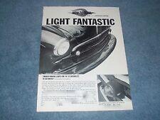 "1949-'52 Chevrolet How-To Custom Parking Lights Article ""Light Fantastic"" '50 51"