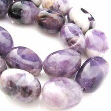 Amethyst Beads - 25X18mm Freeform Nuggets (sold per strand)