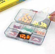 Pill Box Jewelry Screw Tablet Holder Medicine Storage Organizer Case Container