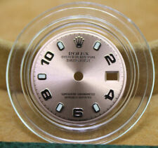 Original Lady Rolex 26mm Datejust 179160 179174 Rose (Salmon) Arabic Index Dial