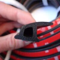 4M P Type Weatherstrip Sealing Truck Car Motor Door Rubber Seal Hollow Strip JQ