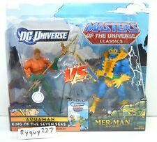 MOTUC, Aquaman vs Mer-Man, MOC, sealed, Masters of the Universe Classics, MISB