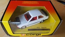 Corgi Toys Ford Escort RS 1600 No 453 MIB New Great Britain Dated 1984 Vintage