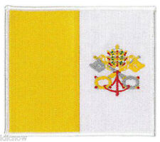"""Vatican (embroidered) Patch 12.5 X 8.5CM(5"""" X 3 1/2"""") approx"""