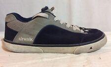 Black & Gray AIRWALK suede skate shoes US Size 8
