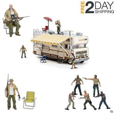 Zombie Construction Sets Walking Dead Toys Dales RV Model Lego Set Action Figure