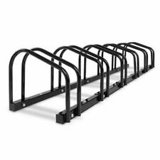 1 ? 6 Bike Floor Parking Rack Instant Storage Stand Bicycle Cycling Portable Bk