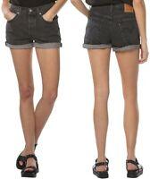 Levi's Damen Jeans Short 501 Grau W31, W32