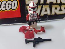 LEGO STAR WARS CUSTOM CLONE COMMANDER TROOPER FOX MINIFIG #SUNDAYMARKET