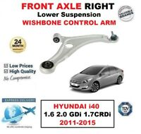 FRONT AXLE RIGHT Lower CONTROL ARM for HYUNDAI i40 1.6 2.0 GDi 1.7CRDi 2011-2015