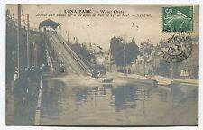 (Paris) Luna Park -  Water Chute - Arrivée d'un Bateau après une chute de 25 m
