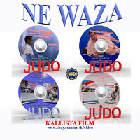 Judo. Collection 4 DVD. Ne waza. 245 min(Disc only).