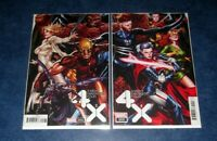 X-MEN FANTASTIC FOUR #3 & #4 MARK BROOKS connecting variant set MARVEL NM SEXY