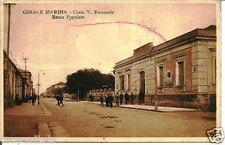 cl 03 1925 GERACE MARINA (Reggio Calabria) Banca Popolare -Corso V.E.-viagg - FP